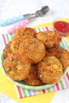 Lentil veggie nuggets