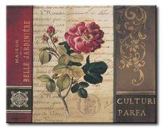 POl_178_Belle Jardin II / Cuadro Vintage con Flores