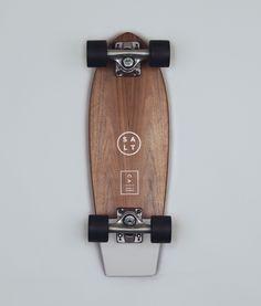 SALT SURF — Skateboard- Pigeon Grey Skateboards 3a9a8497e62