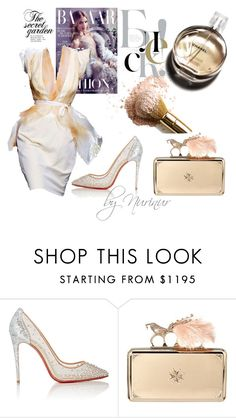 """Be CHIC"" by nurinur ❤ liked on Polyvore featuring Chanel, Christian Louboutin and Alexander McQueen"