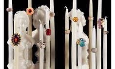 Martin Vallin photography - Rings and Candles #jewelry still life photography #product