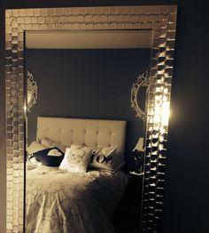 Sparkly floor length mirror