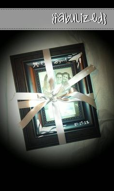 Set of 2 hand painted, custom frames. Great for wedding gifts, special occasions, or holidays. $10/set
