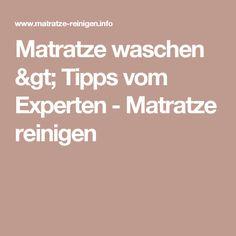 Matratze waschen > Tipps vom Experten - Matratze reinigen