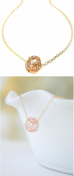 Tangled Love Knot Necklace ♥