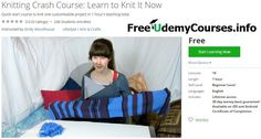 [#Udemy 100% Off] #Knitting Crash Course: Learn to Knit It Now   About This Course  Published 11/2016English  Course Description  This quick and easy course will get you up and knitting in under 1 hour.  Fed up of scrolling through YouTube trying to find clear and understandable knitting videos? Incomplete step-by-step tutorials driving you crazy?  This course has what you're looking for. I start at the beginning and teach you the very basics of knitting never assuming prior knowledge…