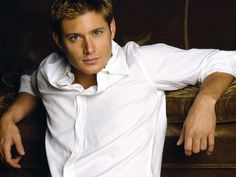 Jensen Ackles :) If you have never watched his show, Supernatural, you HAVE to check it out. I even got my husband addicted!