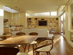 Cole Valley Hillside - modern - dining room - san francisco - John Maniscalco Architecture