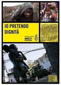 """""""Io pretendo dignità"""", il #concorso fotografico di #Amnesty International"""