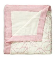 Aden and Anais Tranquility Leafy White Bamboo Dream Blanket - Overstock Shopping - Great Deals on aden + anais Baby Blankets Bamboo Blanket, Crib Blanket, Swaddle Blanket, Swaddling Blankets, Dream Blanket, Muslin Baby Blankets, Nursery Bedding, Baby Bedding, Girl Nursery
