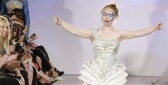 Madeline Stuart es la primera #modelo con síndrome de Down en desfilar en la Semana de la Moda de Nueva York