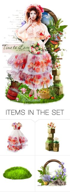 """""""Garden of Love"""" by sophisticatedignorance21 ❤ liked on Polyvore featuring art"""