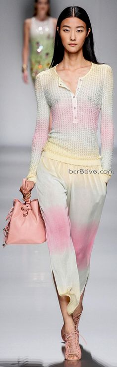 Blumarine  Spring Summer 2013 Ready-To-Wear Collection - A Pastel Rainbow ... so cute!