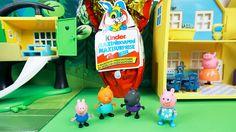 Свинка Пеппа открывает самый Большой киндер сюрприз