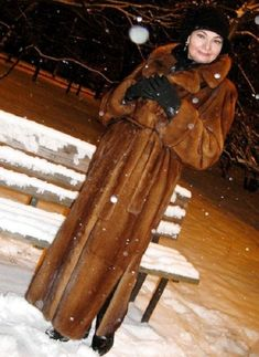 Vison, Fur Coats, Mink, Snow, Street, Womens Fashion, Jackets, Furs, Coats