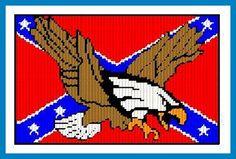 Confederate Flag Plastic Canvas - Bing Images