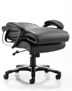 Romeo Executive Leather High Back Office Chair With Contemporary Design Height Adjule A Tilt Mechanism