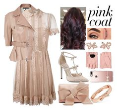"""Pink Bow"" by chiaral95 ❤ liked on Polyvore featuring René Caovilla, Alexander McQueen, RED Valentino, Betsey Johnson, Oscar de la Renta, Morphe, Tiffany & Co., Karl Lagerfeld, Casetify and contest"