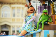 Sights and Sounds of Disney Parks: Kermit Talks about Disney and the Muppets