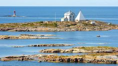 Kobba Klintar in the Aland archipelago - a patch of about 7000 islands halfway between Finland and Sweden