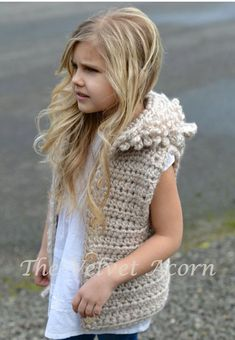 CROCHET PATTERN Lanstyn Lion Hooded Vest 2 3/4 от Thevelvetacorn