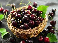 Süßkirsche 'Stella' / selbstfruchtend - Prunus 'Stella' Prunus, Dessert, Cherry, Fruit, Food, Fresh Green, Fruit Juice, Small Trees, Bumble Bees