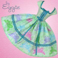 Hop To It - Vintage Barbie Doll Dress Reproduction Barbie Clothes on eBay http://www.ebay.com/usr/fanfare1901?_trksid=p2047675.l2559
