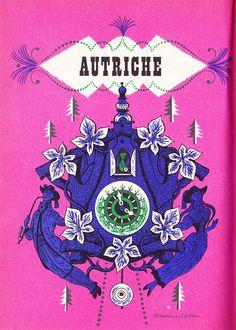 Vintage illustration by Maurice Laban