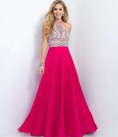10/11/16  Brand/Designer: Blush Season: 2016 Occasion: Formal Homecoming Prom Dress Shoulder: Halter Embellishments: Sequined