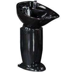Free Standing Shampoo Unit with Black Bowl SU-05BLK