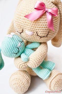 Mesmerizing Crochet an Amigurumi Rabbit Ideas. Lovely Crochet an Amigurumi Rabbit Ideas. Crochet Gratis, Crochet Diy, Easter Crochet, Love Crochet, Crochet Baby Toys, Crochet Patterns Amigurumi, Amigurumi Doll, Crochet Dolls, Sleeping Bunny