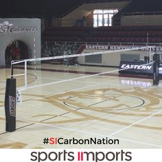 Eastern Kentucky University SI1 Carbon Volleyball Net System #SICarbonNation