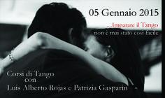 Nuovi corsi Tango  Gennaio 2015  Thiene - Vicenza - Schio