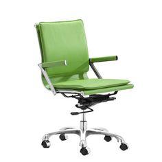 dCOR design Lider Plus Mid-Back Office Chair & Reviews | Wayfair