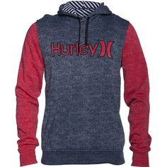 Hurley Burnout Fleece Pullover Hoodie - Men's
