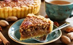 Pecan pie is one of our go-to pie recipes around the holidays and we've tinkered around over the years with all the recipes we can come up with. We've tried pecan pies with chocolate components, Pie Recipes, Low Carb Recipes, Dessert Recipes, Cooking Recipes, Syrup Recipes, Best Pecan Pie, Pecan Pies, Thanksgiving Pies, Low Carb Desserts