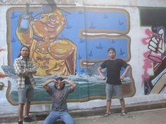 """Jamming Mural """"Sedulur Tunggal Tembok"""" di TBRS Semarang"""