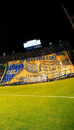 Boca Juniors Bombonera Telon La Historia Continua wallpapers