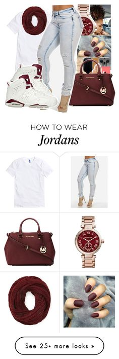""""" by itssaiv0y on Polyvore featuring Michael Kors, Forever 21 and MICHAEL Michael Kors"