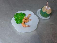 Como fazer camarão e coco para nossas bonecas