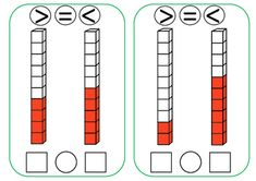 This file includes 34 flash cards for teaching comparing numbers to 10 using the greater than, less than, and equal sign. Equals Sign, Comparing Numbers, Numbers 1 10, Greater Than, Maths, Equality, Teacher, Social Equality, Professor