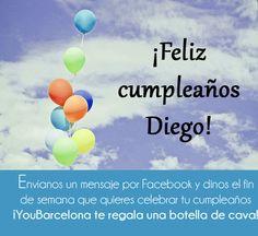 ¡Feliz cumpleaños Diego! #YouBarcelona