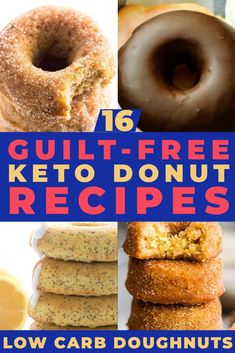 16 Insanely-Easy Keto Donuts [The Low Carb Doughnut Recipes You've Been Looking . - 16 Insanely-Easy Keto Donuts [The Low Carb Doughnut Recipes You've Been Looking For] – These 1 - Donuts Keto, Low Carb Doughnuts, Low Carb Donut, Keto Fat, Low Carb Keto, Low Carb Recipes, Keto Approved Foods, Keto Diet Vegetables, Ketogenic Diet Starting
