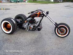 "Tuning Santiago Chopper ""Lucky 7"" - Trike"