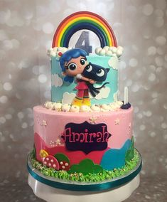 7th Birthday Cakes, Paris Birthday, Rainbow Birthday Party, Birthday Party Games, 4th Birthday Parties, Adoption Gifts, First Birthdays, Google, Baby