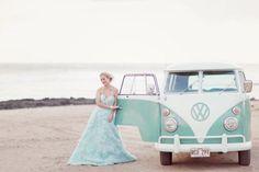 meio-de-transporte-do-casamento-kombi | Casando Sem Grana
