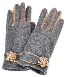 Fitted Wool Gloves