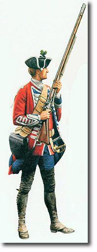 Corporal, 3rd Regiment of Foot Guards circa. 1762.
