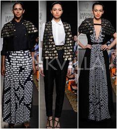 Urvashi Joneja collection at Lakme Fashion Week Winter/ Festive 2014 | PINKVILLA