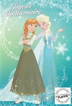 Avec Des Enveloppes Blanches 10 Cartes Invitation Anniversaire La Reine Des Neiges Frozen In French